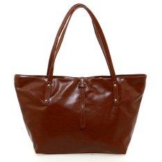 Ease Adriana Tote Bag - Cokelat