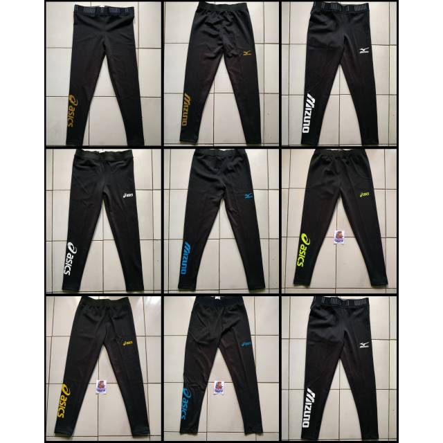 Legging Sport Volley Ball Celana Manset Baselayer Volly Ball Wanita Pria All Size Lazada Indonesia