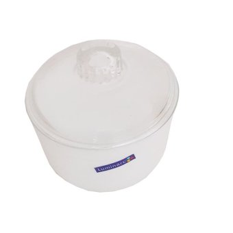 Luminarc Essence Sugar Bowl w/ Glass Lid -1pcs