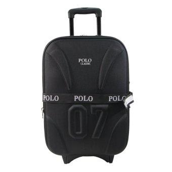 Polo Classic 5620 Tas Koper Kabin 20 inch - Black - Tas Travel - Gratis Pengiriman