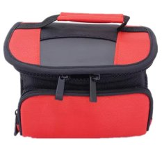 Red DSLR Camera Video Shoulder Bag Camera Case for Nikon D3300 D3200 D3100 D3000 D5200 D5100 D5000 (Intl)