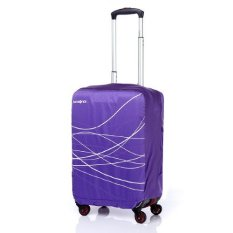 [SAMSONITE] TRAVEL LINK ACC. Air Cover FOLDABLE LUGGAGE COVER S_PURPLE (Z3481060) (Single Option)