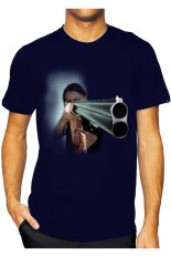 T-Shirt Glory Kaos 3D Shooting Navy - Navy