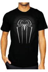 T-Shirt Glory Kaos 3D Spiderman 4 - Hitam