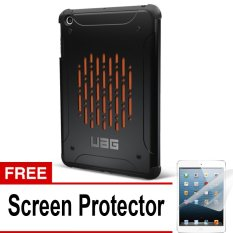 UAG Case for Ipad MIni 1 Urban Armor Gear - Hitam + Gratis Screen Protector